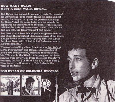 Bob dylan hard rain lyrics