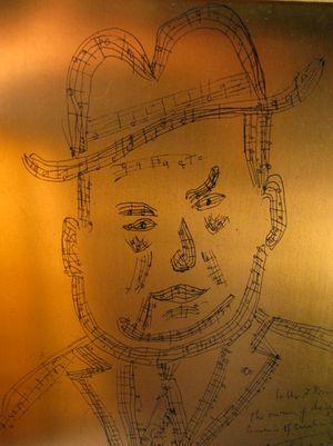 Darius Milhaud Self-Portrait
