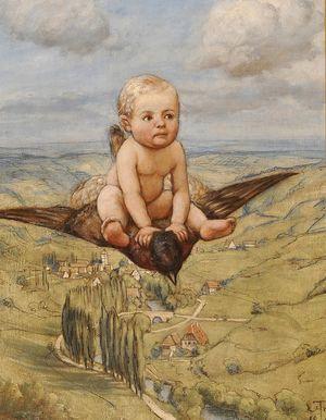 Hans_Thoma_-_Ritt_auf_dem_Vogel_(1885)