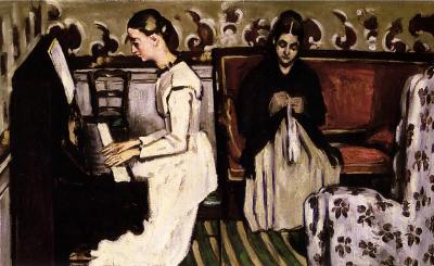 Cézanne Jeune Fille