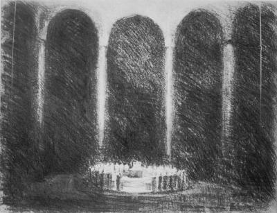 Wieland Parsifal sketch