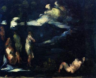 Cézanne Baigneurs