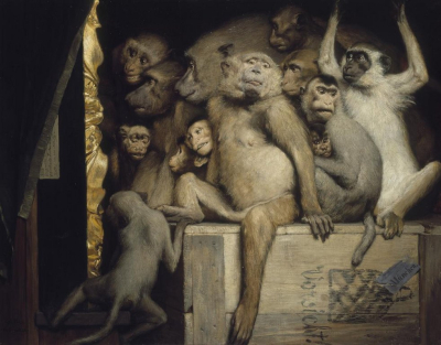 982px-Gabriel_Cornelius_von_Max _1840-1915 _Monkeys_as_Judges_of_Art _1889