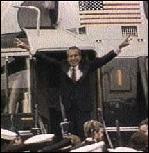 Nixonleaves